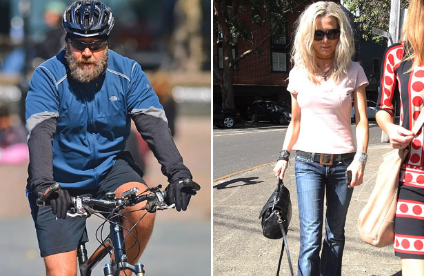 Russell Crowe: Danielle Spencer's Father Confirms Divorce | ExtraTV com