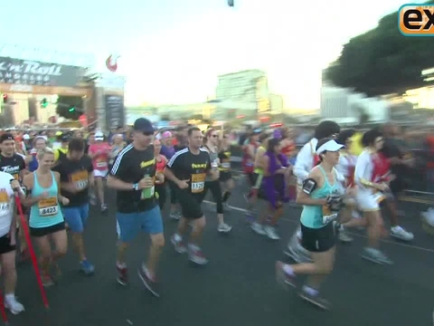 Will Ferrell Runs Marathon as Ron Burgundy
