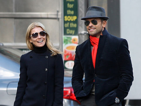 Kelly Ripa and husband Mark Consuelos were spotted leaving their hotel room in…