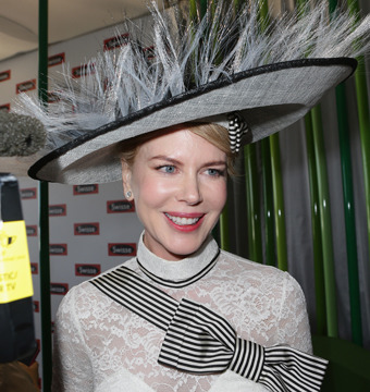 Nicole Kidman attended Derby Day at Flemington Racecourse in Melbourne.