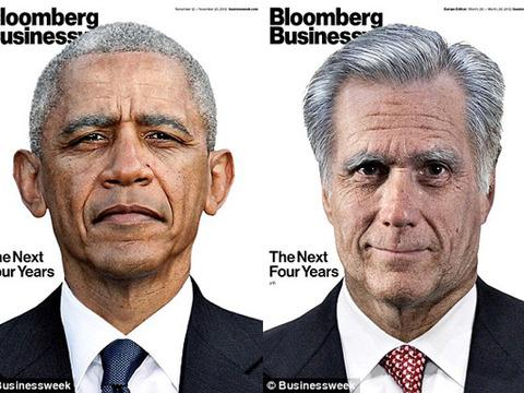 President Obama and Mitt Romney Age Progression Photos!