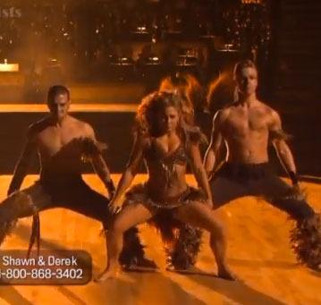 'DWTS' Recap: Threesomes Hit the Ballroom!