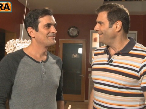 On the Set of 'Modern Family' with Ty Burrell and Matthew Broderick