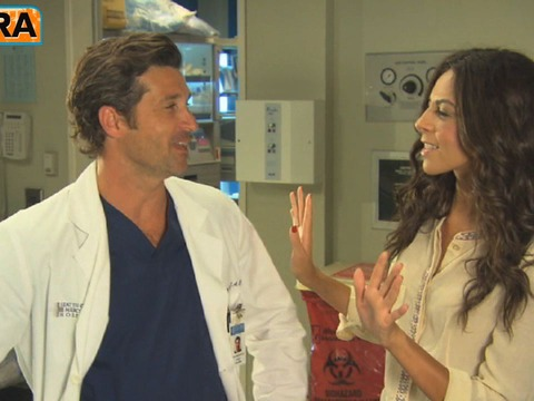 'Grey's Anatomy' Set Visit with Patrick Dempsey