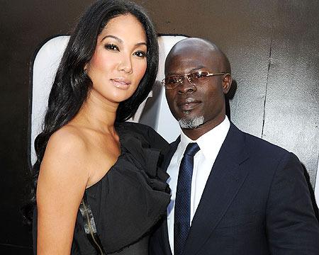 Kimora Lee Simmons and Djimon Hounsou Officially Separate