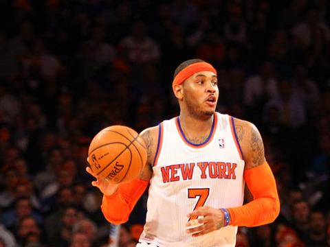 'Extra' Raw! At the New York Knicks Holiday Party