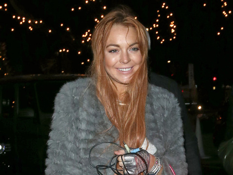 Lindsay Lohan Vacations in London, Denies 'Celebrity Big Brother' Rumors