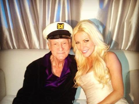 Hugh Hefner and Crystal Harris Tie the Knot