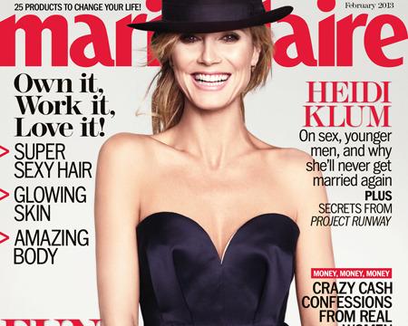 Heidi Klum Talks Divorce, Cougars and 'Wild and Crazy' Sex