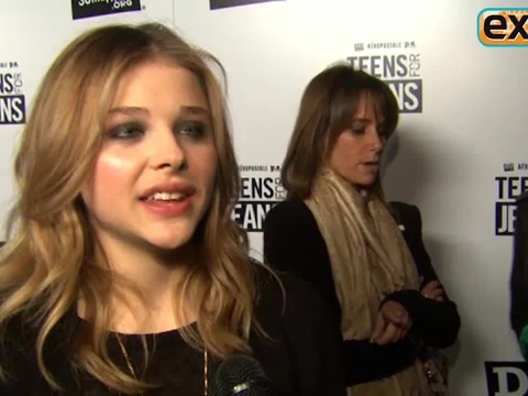 Chloë Grace Moretz Supports 'Teens for Jeans'