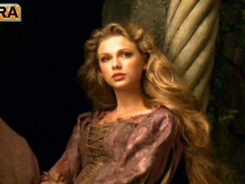 Taylor Swift Goes Rapunzel for Disney