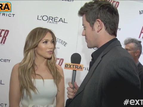 Jennifer Lopez Reveals Casper Smart's Reaction to 'Parker' Stripdown
