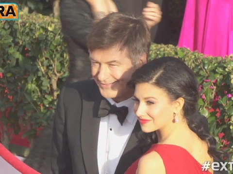 'Extra' on the Red Carpet at the SAG Awards