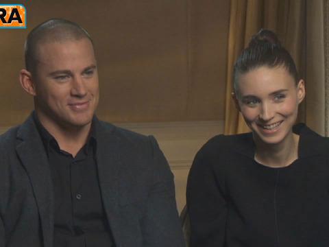 Channing Tatum on the 'Sexiest Man Alive' Handshake
