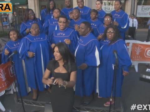At The Grove! Toni Braxton Goin' Gospel