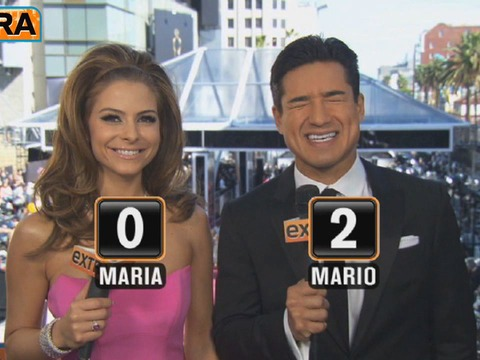 Mario vs. Maria Face-Off: The Oscar Bloopers Challenge