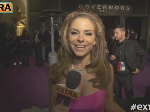 Oscars 2013: Backstage