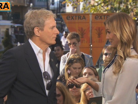 Video! Michael Bolton Takes 'Extra's' Rapid-Fire Quiz
