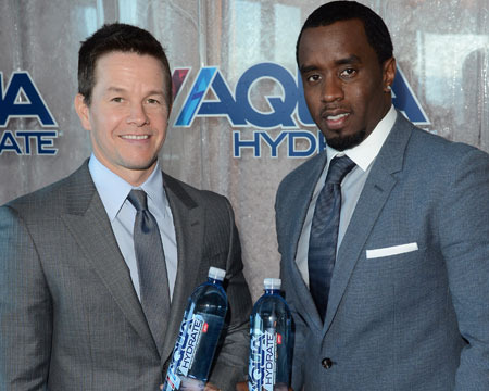 Diddy and Mark Wahlberg Set Record for Biggest Water Launch