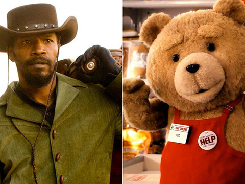 'Django Unchained,' 'Ted' Lead 2013 MTV Movie Awards Nominations
