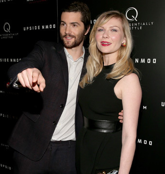"""Jim Sturgess and Kirsten Dunst attended the """"Upside Down"""" premiere in Hollywood."""