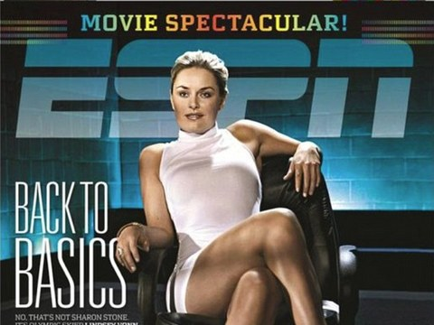 Video! Lindsey Vonn Recreates Sharon Stone's Sexy 'Basic Instinct'…