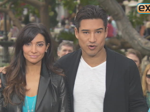 Courtney and Mario Lopez Play the Newlywed Game