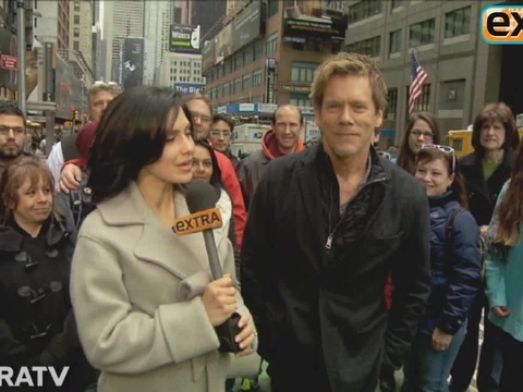 Video! Catching Up with Kevin Bacon