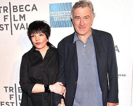 Liza Minnelli and Robert De Niro attended the Tribeca Film Festival premiere of…