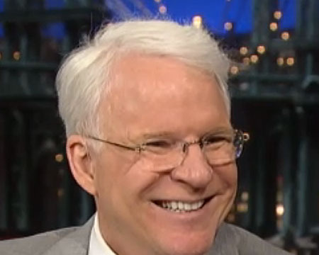 Video! Steve Martin's Unique Name for His Baby Girl