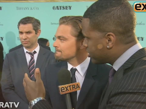 'Extra' at the NYC Premiere of 'The Great Gatsby'