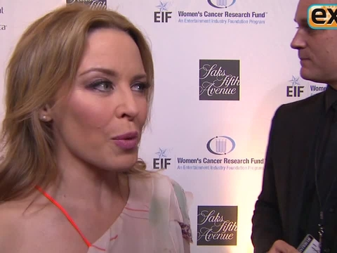 "Video! Kylie Minogue Has ""An Unforgettable Evening"""