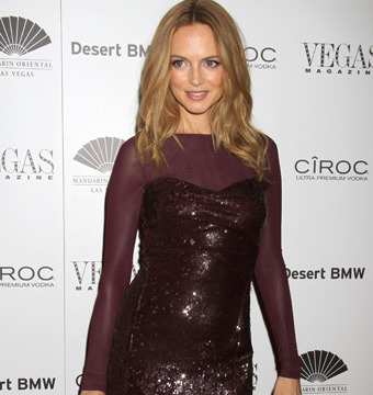 Heather Graham attended Vegas Magazine's 10th anniversary party at the Mandarin…