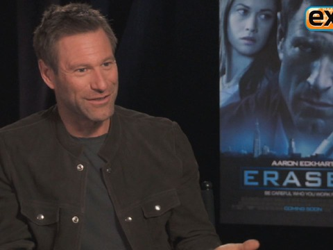 Aaron Eckhart on 'Erased' Stunts: Learning to 'Speak the Language'