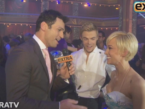 'DWTS' Finale: Backstage with Winners Kellie and Derek!
