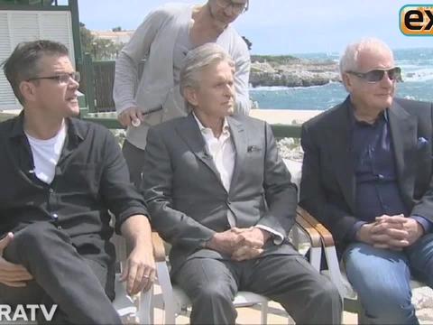 Matt Damon and Michael Douglas Play 'Who Would Liberace Rather?'