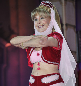 Pic! Barbara Eden, 78, Dons 'I Dream of Jeannie' Costume for Charity