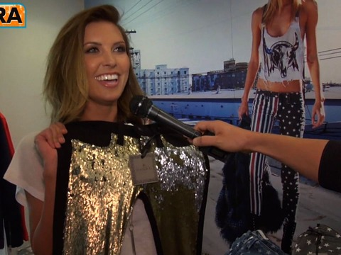 Whitney Port and Audrina Patridge Celebrate Frankie B's Store at Kitson