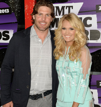 Carrie Underwood and Mike Fisher attended the CMT Music Awards in Nashville on…
