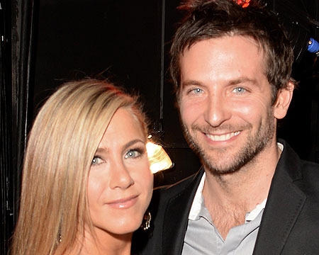 Jennifer Aniston and Bradley Cooper attended the 2013 Spike TV Guys Choice…