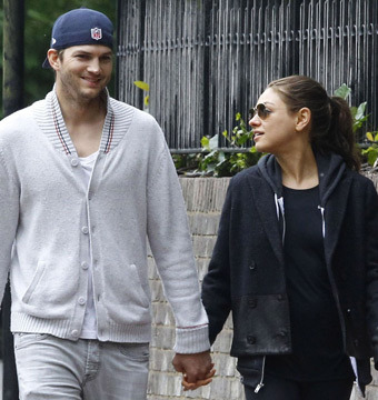 Mila Kunis and Ashton Kutcher Hit the Beach with Princess Beatrice