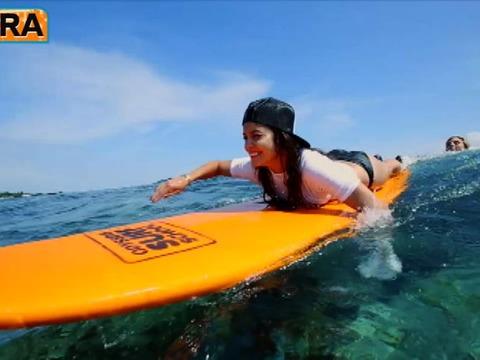 Video! Vanessa Hudgens and Ashley Greene Go Surfing