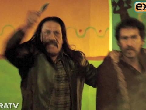 Hanging on the Set of 'Machete Kills'
