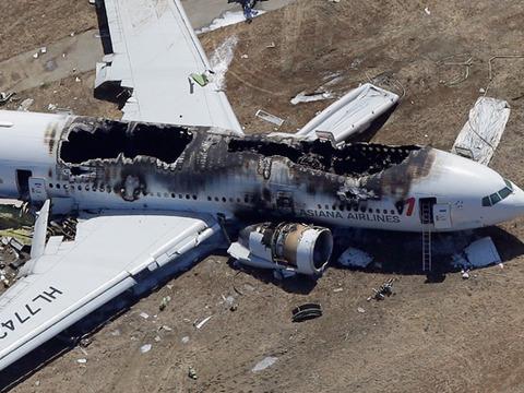 San Francisco Plane Crash Captured on Video
