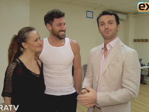 Maksim Chmerkovskiy and Karina Smirnoff Reunite for 'Forever Tango'