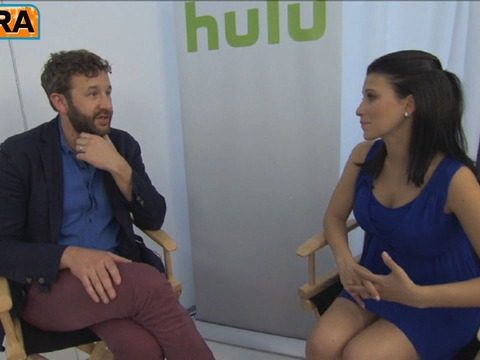 Video! 'Bridemaids' Star Chris O'Dowd Talks New Hulu Exclusive Series