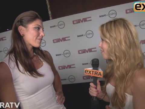 'Extra' Raw! At the ESPN Magazine's Body Issue Party