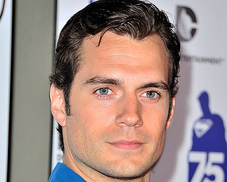 Henry Cavill arrived to the Superman 75 party at Comic-Con 2013.