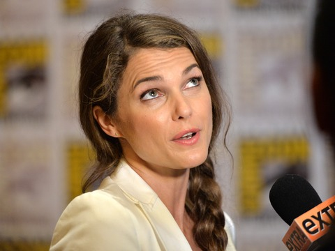 Comic-Con 2013: Keri Russell on 'Ape' Talk