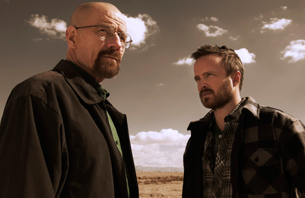 breaking bad burning series